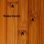 bamboo knots (nodes)