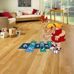 resilient floor maintenance