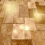 sheet vinyl floor discoloration