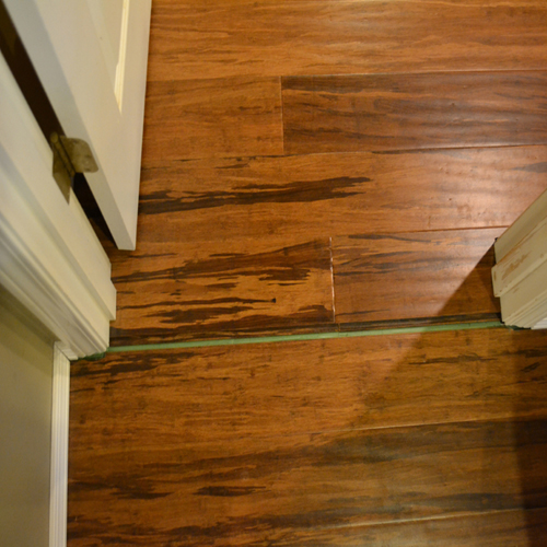 performance no transition - Bamboo Wood Flooring