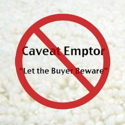 Floor covering caveat emptor