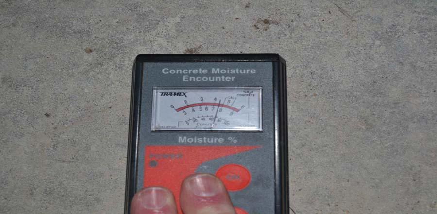 moisture related flooring failures