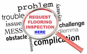 request a floorcovering inspection